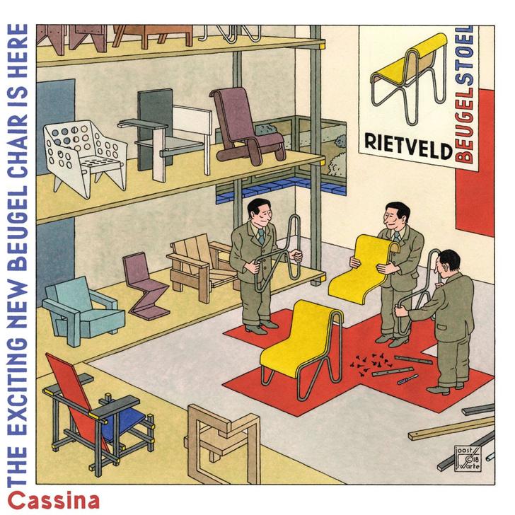 Комиксы и дизайн: выставка в Vitra Design Museum (фото 11)