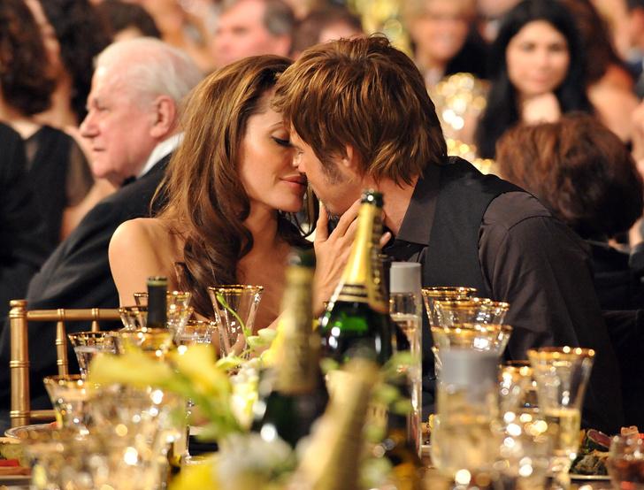 Анджелина Джоли и Брэд Питт фото