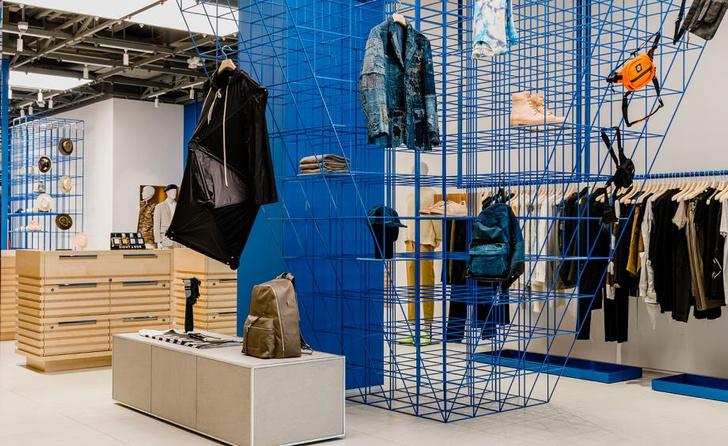 Яркий и необычный бутик по проекту Snarkitecture (фото 5)
