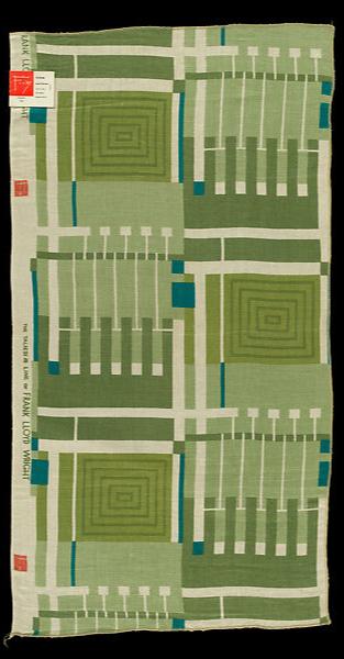 Ткани по дизайну Фрэнка Ллойда Райта на выставке в Нью-Йорке (фото 4.1)