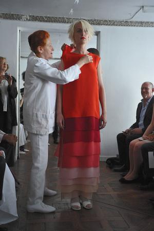 Показы мод Adeline Andre Осень-зима 2009-2010 | Подиум на ELLE - Подиум - фото 3274