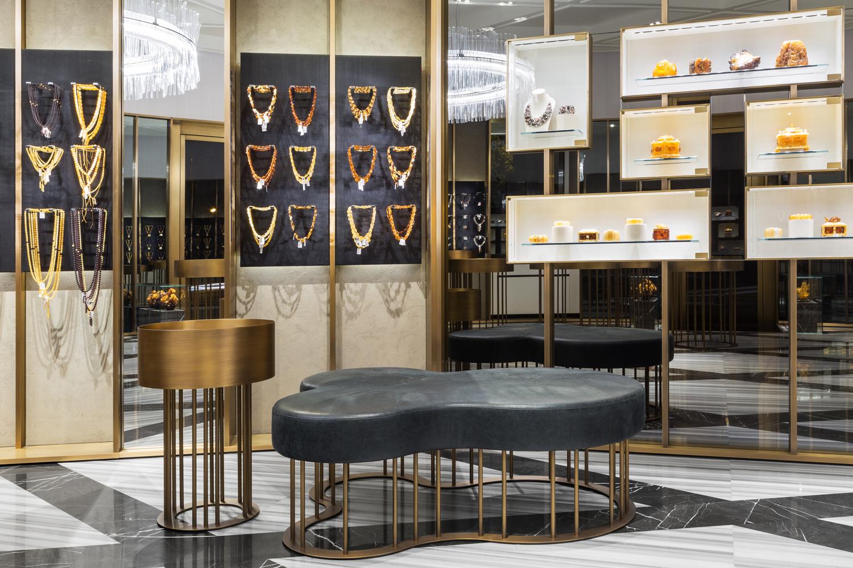 Открылся первый флагманский бутик Amber & Art в Санкт-Петербурге | галерея [1] фото [1]