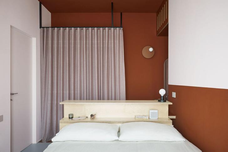 Квартира 75 м² в терракотовой гамме в Милане (фото 8)