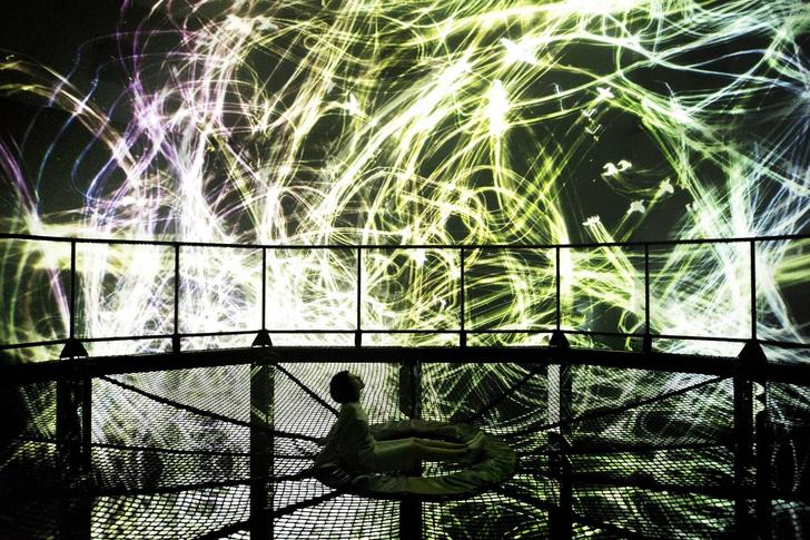 В Токио открылся первый в мире музей цифрового искусства (фото 2)