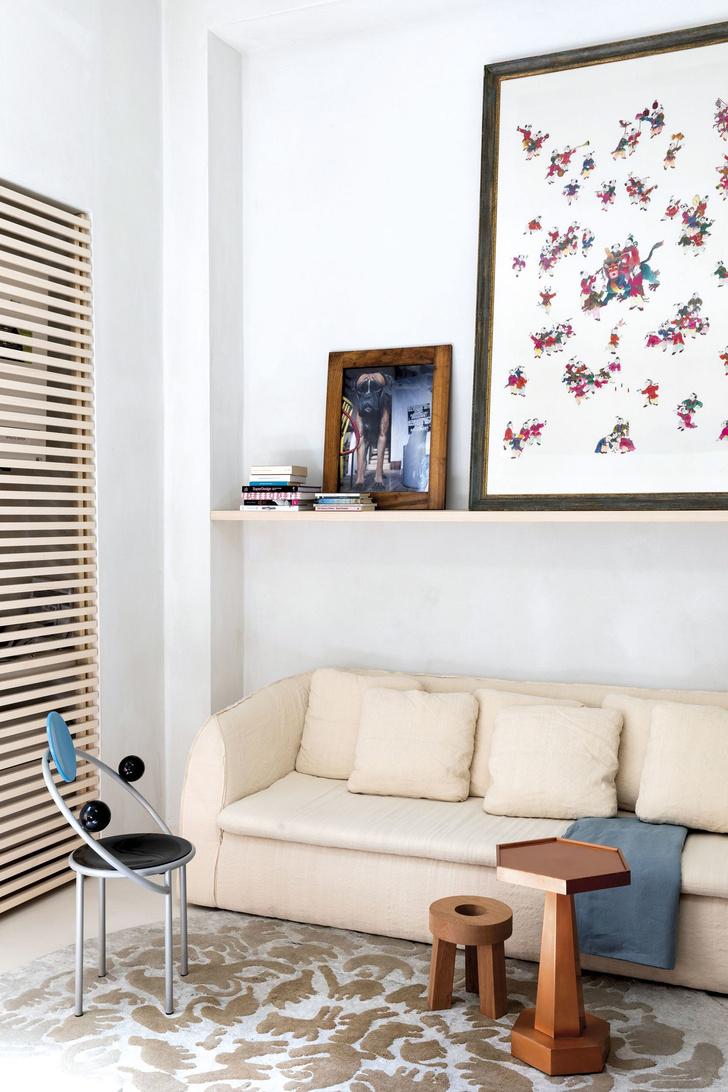 Лучше меньше да лучше: микроквартира дизайнера Альдо Чибика в Милане (фото 8)