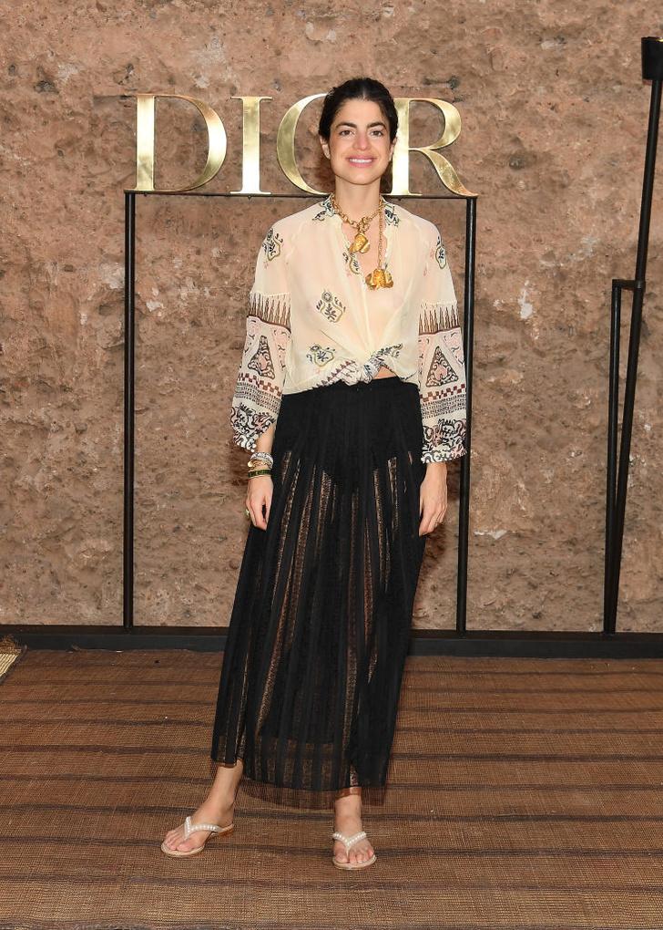 Ночь нежна: Джессика Альба, Лена Перминова и другие звезды на показе Dior Cruise в Марокко (фото 6)