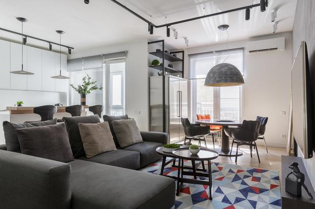 Tabula rasa: минималистичная квартира 72 м² (фото 5)
