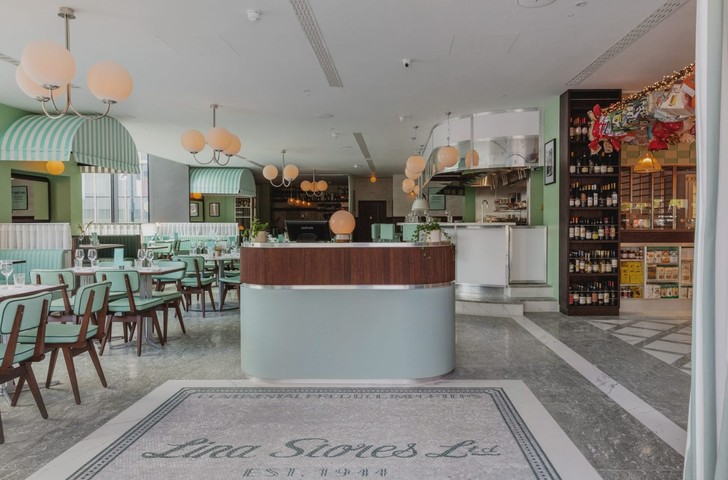 Ресторан Lina Stores в историческом районе Кингс-Кросс (фото 3)