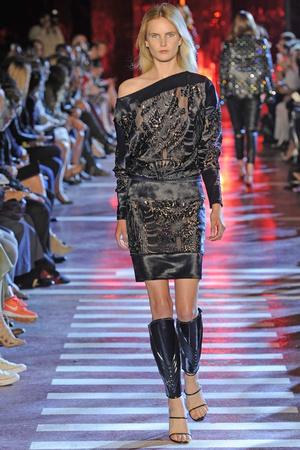 Показ Alexandre Vauthier коллекции сезона Осень-зима 2014-2015 года Haute couture - www.elle.ru - Подиум - фото 585221