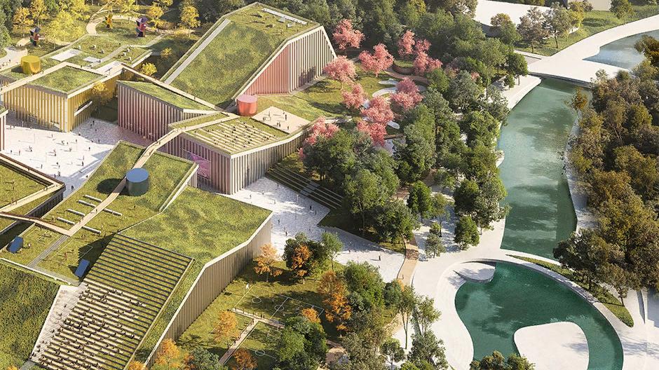 Пятый фасад: зеленые крыши (галерея 35, фото 0)