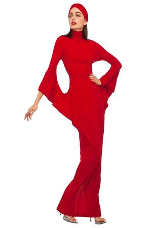 Показы мод Norma Kamali Осень-зима 2012-2013 | Подиум на ELLE - Подиум - фото 1613