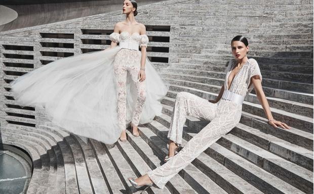 16 платьев из новой свадебной коллекции  Naeem Khan (фото 13)