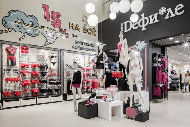 В Москве открылся самый большой в России магазин белья «Гранд Dефи*ле»