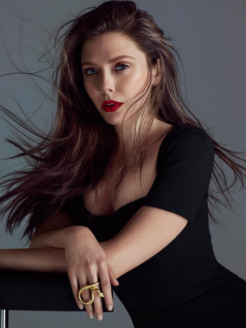 Элизабет Олсен Красивая