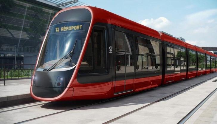 Трамвай в Ницце по дизайну Ора Ито (фото 8)