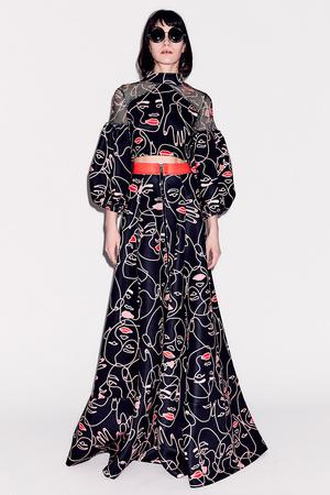 Показ Epson Digital Couture коллекции сезона Осень-зима 2017-2018 года prêt-à-porter - www.elle.ru - Подиум - фото 619131