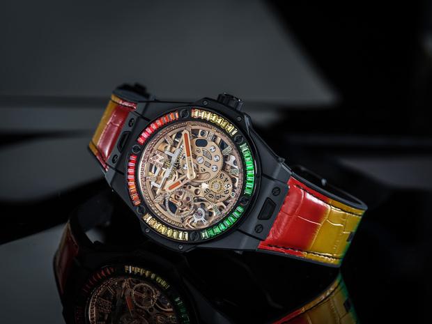 Крупным планом: часы Hublot Big Bang Meca-10 Nicky Jam (фото 1)