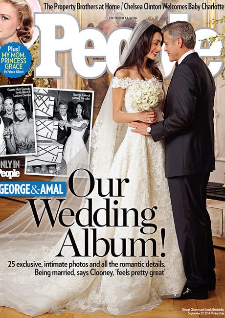 Свадебное платье Амаль Клуни покажут в музее фото [2]