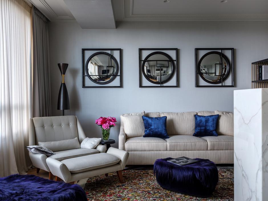 Яркие подушки в интерьере: 20 идей (галерея 0, фото 13)