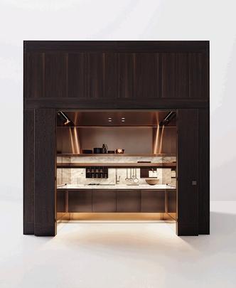 Шоу-рум кухонь Arclinea по проекту Антонио Читтерио (фото 12.2)