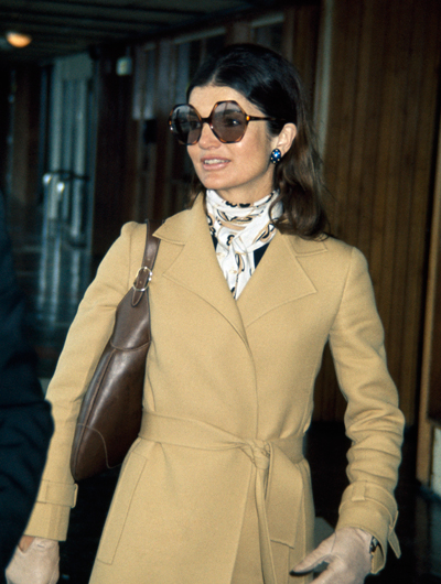 Жаклин Кеннеди-Онассис с сумкой Gucci