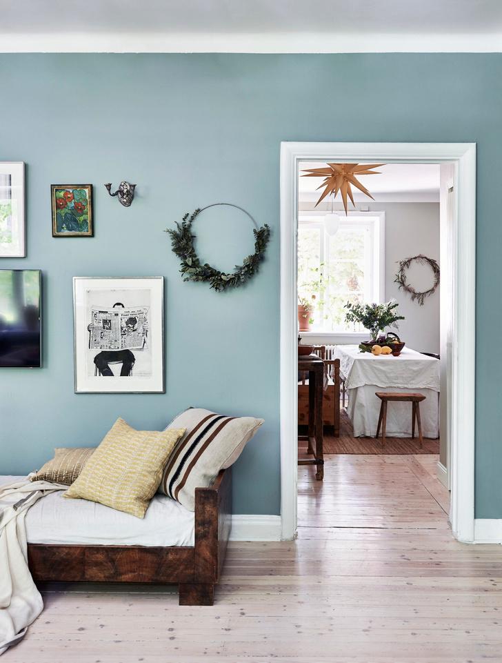 Скандинавский голубой: дом стилиста Софии Вуд (фото 4)