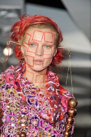 Показ Maurizio Galante коллекции сезона Весна-лето 2011 года Haute couture - www.elle.ru - Подиум - фото 216745
