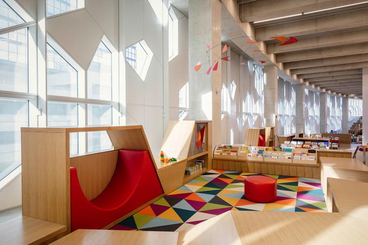 В Калгари открылась городская библиотека по проекту Snøhetta (фото 9)