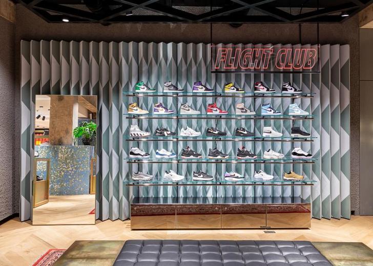 Бутик-головоломка Flannels в Лондоне (фото 4)