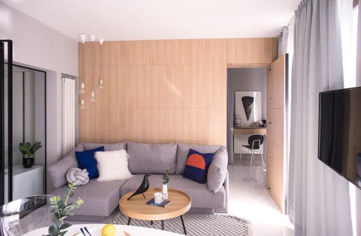 Минималистичная квартира 48 м² в Софии (фото 4)