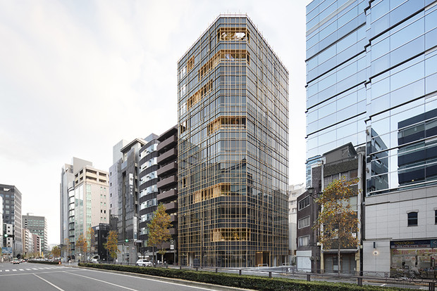 Nendo + Ikawaya Architects: офисное здание в Токио (фото 7)