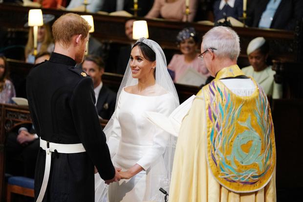 Свершилось! Принц Гарри и Меган Маркл стали мужем и женой (фото 12)