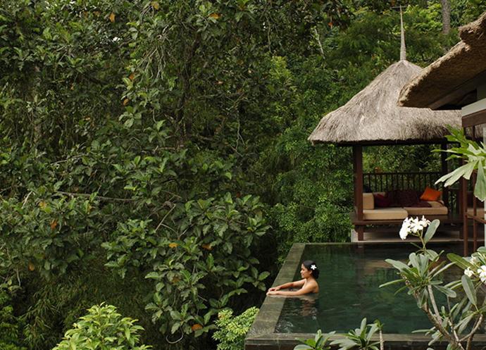 Ubud hanging gardens hotel. Убуд, Бали