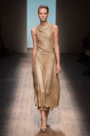 Показы мод Salvatore Ferragamo Весна-лето 2015 | Подиум на ELLE - Подиум - фото 4167