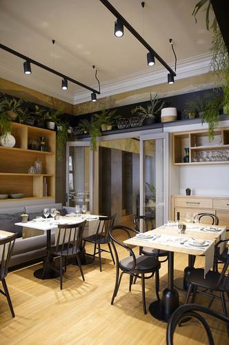 Дерево и зелень: ресторан Viu by Tapiñas под Барселоной (фото 4.2)