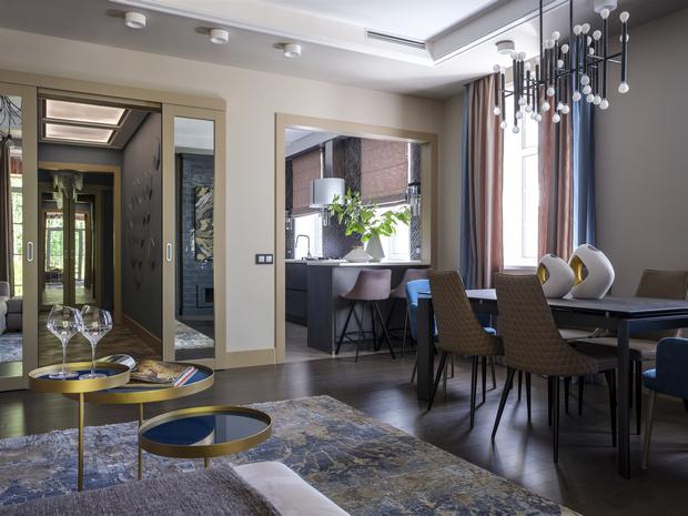 Проект «Серенити»: дом 250 м² в Москве (фото 6)