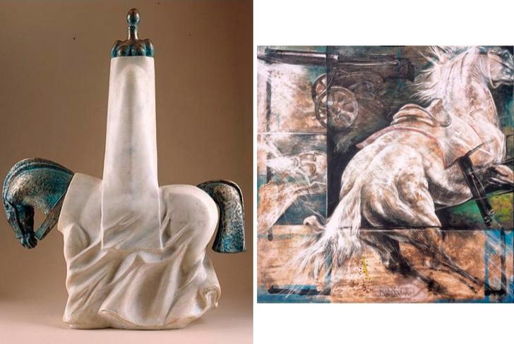 «Не только скульптура»: выставка Александра Рукавишникова в галерее VS unio (фото 2)