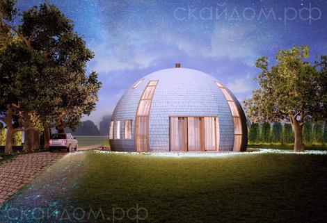 Купольные дома от российской компании   галерея [1] фото [4]