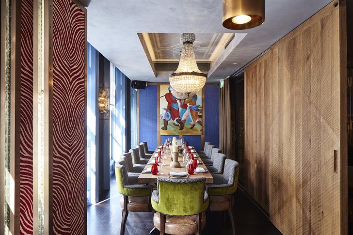Ресторан OSH в Лондоне: проект Ирины Глик (фото 1)