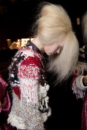 Показ Fashion East коллекции сезона Осень-зима 2012-2013 года Prêt-à-porter - www.elle.ru - Подиум - фото 357398