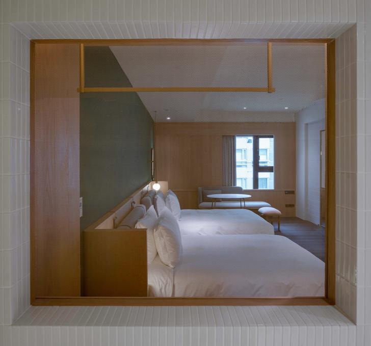Отель в Тайбее по дизайну Нери и Ху (фото 7)