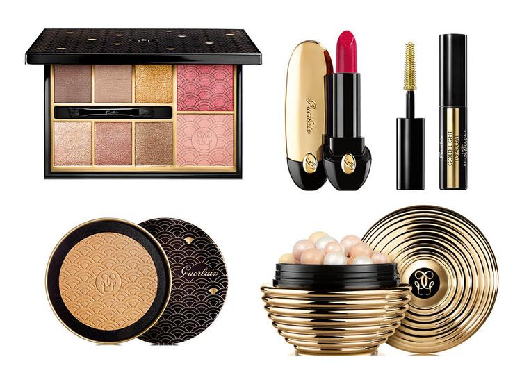 Все на бал: рождественская коллекция макияжа Guerlain Gold Ball фото [4]