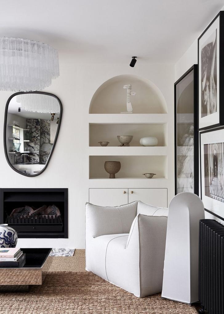 Монохромный интерьер квартиры в Австралии (фото 2)