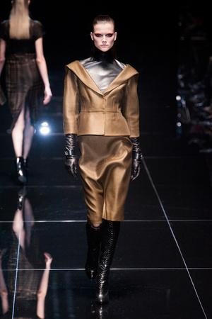 Показы мод Gucci Осень-зима 2013-2014 | Подиум на ELLE - Подиум - фото 732