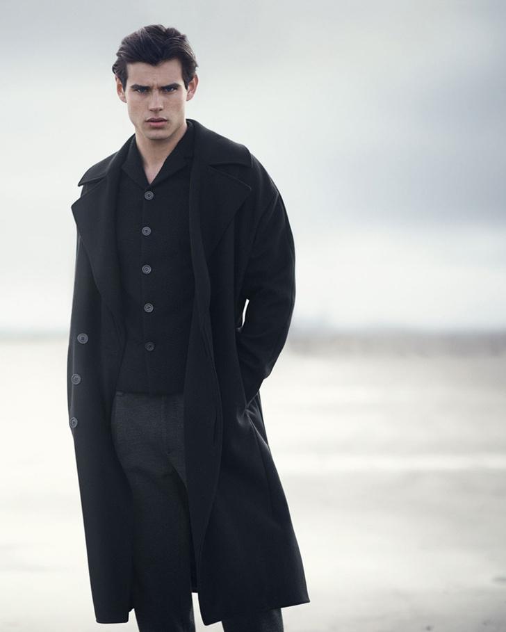 Мужское пальто: модная мужская одежда