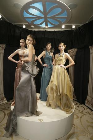 Показ Reem Acra коллекции сезона Осень-зима 2009-2010 года prêt-à-porter - www.elle.ru - Подиум - фото 91618