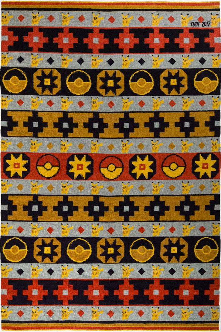 Украинские килимы и пикачу: художник Оксана Левченя (фото 10)