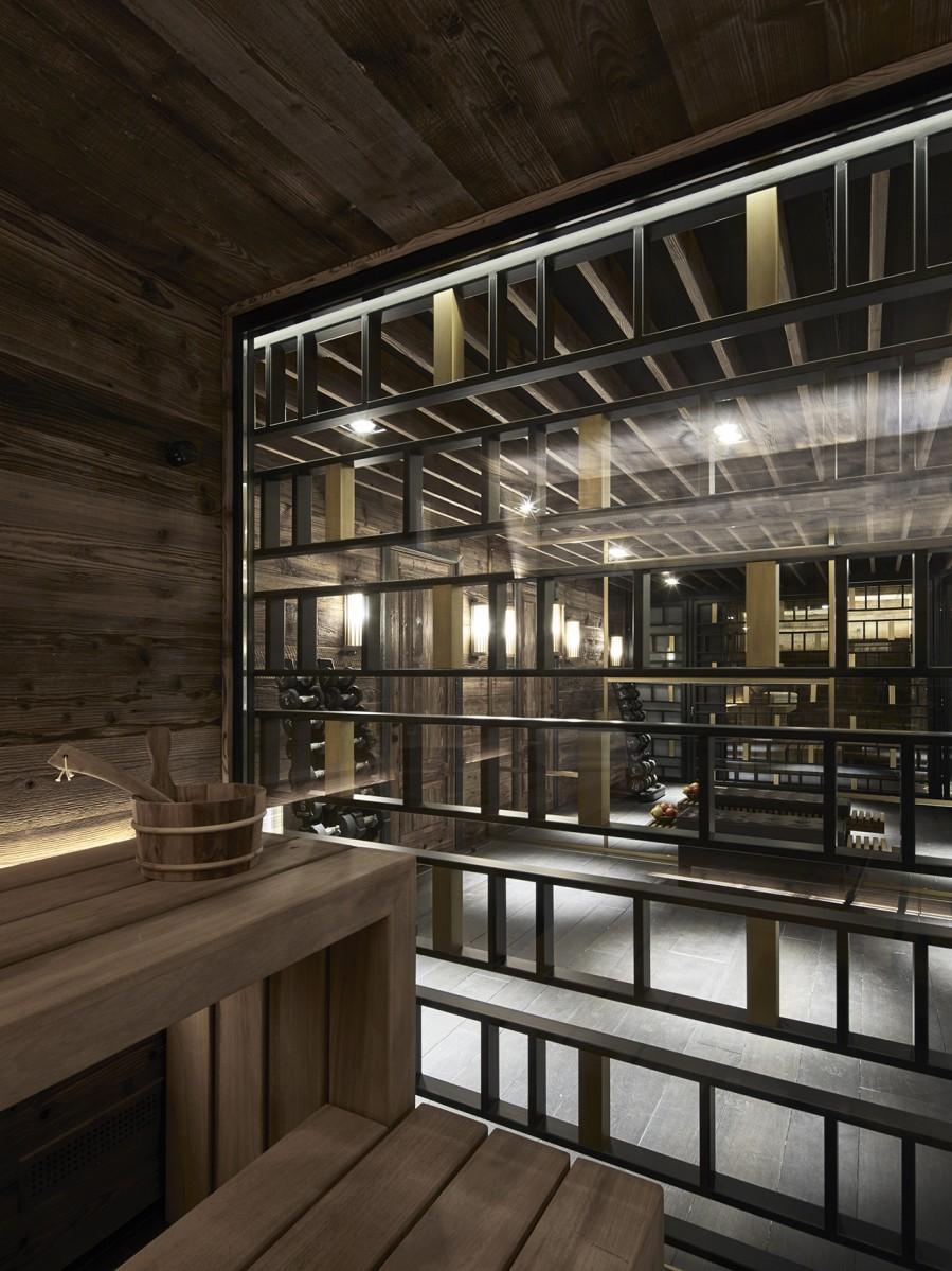 Горное шале в Гштаде по проекту Humbert & Poyet (галерея 14, фото 3)