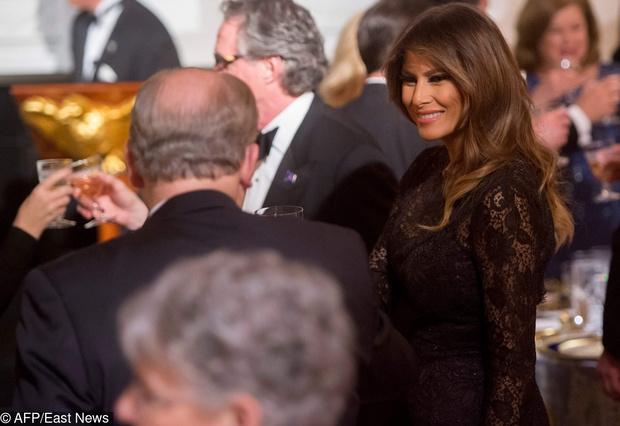 Дональд и Мелания Трамп на ежегодном балу губернаторов (фото 5)