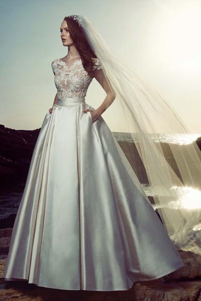 Свадебные платья с пышной юбкой 2017